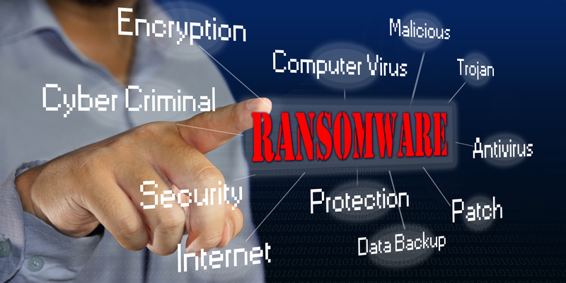 ransomware-aanval risico